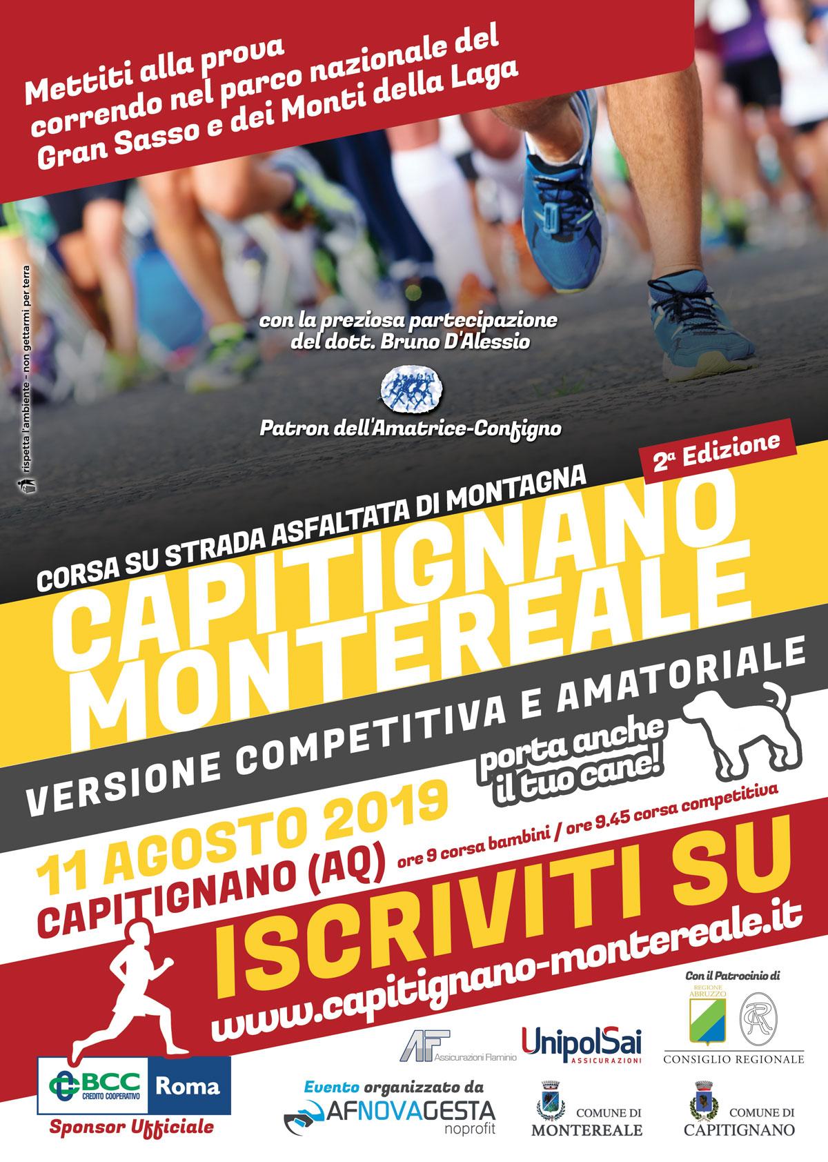 Corsa Capitignano Montereale